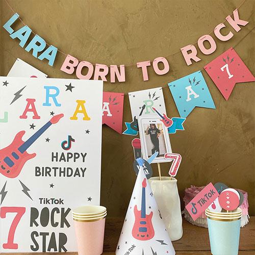 """Kit """"Cumpleaños en cuarentena"""" para regalo de Estudio Matilda"""