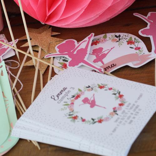 """Kit """"Estampas/Invitaciones & Deco"""" para regalo de Estudio Matilda"""