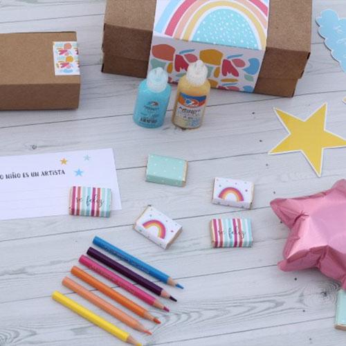 """Kit """"Niñez feliz"""" para regalo de Estudio Matilda"""